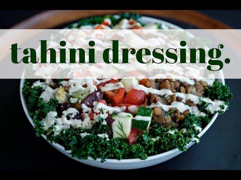 Tahini Dressing - Oil Free