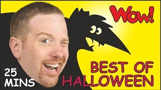 Best of Halloween + MORE| Halloween Songs and Rhymes | Stories for Kids from Steve and Maggie