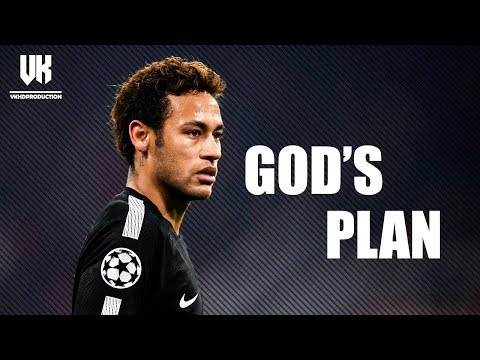 Neymar Junior ● GOD'S PLAN ● PSG ● Skills & Goals ● 2017/18 |HD|