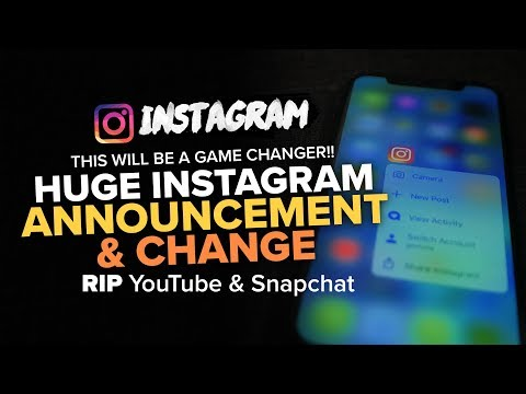 MASSIVE INSTAGRAM CHANGE UPCOMING - 2018 [it will change the game]