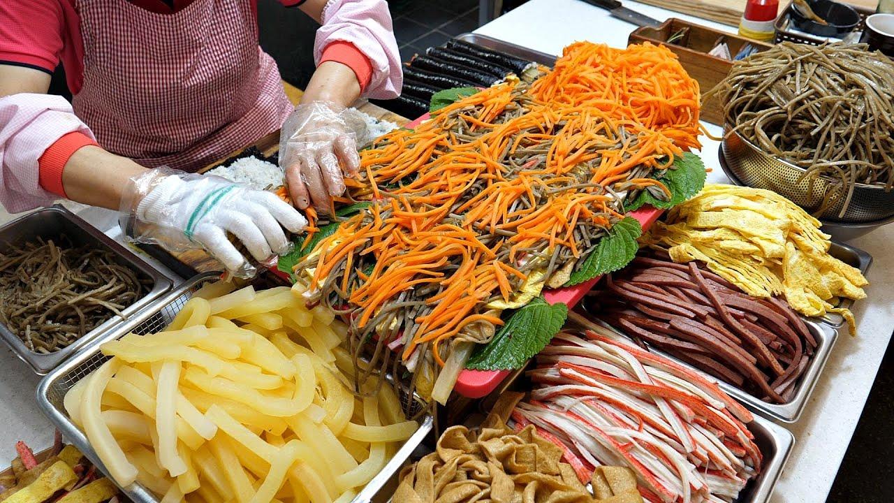 사장님이 봉사 정신으로 판매하는? 1500원 미친 퀄리티 김밥집! / Amazing  Kimbap Master / korean street food