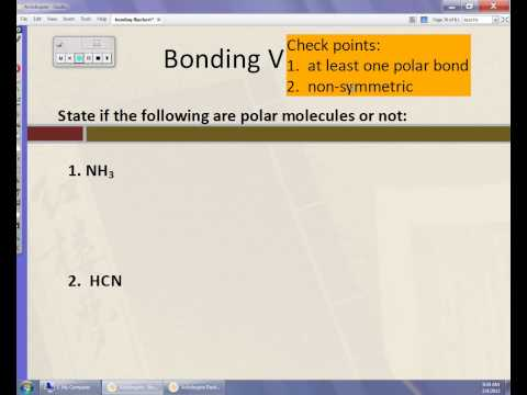 Determine if a Molecule is Polar or Nonpolar