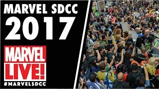 Alanna Smith Reacts on Secret Empire Panel on Marvel LIVE! at San Diego Comic-Con 2017 - Day 2