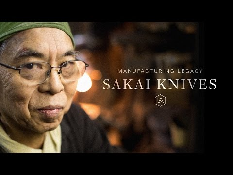 Manufacturing Legacy, Episode 1: Sakai Knives