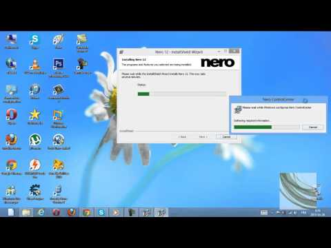 How to install and burn iso files with Nero Express