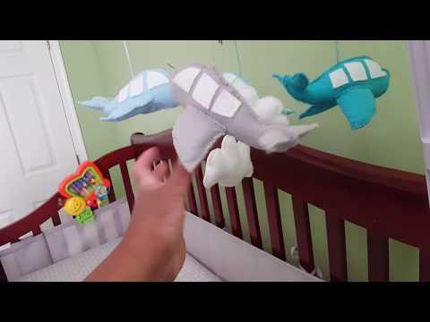 Bye-bye Craft Room...Hello Baby Boy Nursery| small & budget friendly