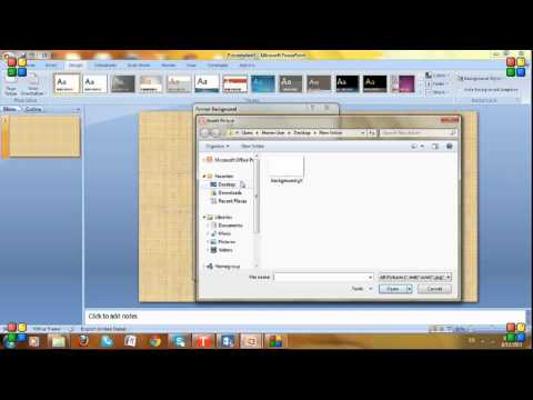 make animated background in powerpoint, ppt