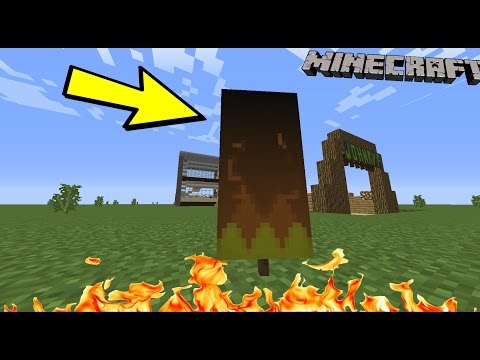 How to make a Flame Banner in Minecraft!