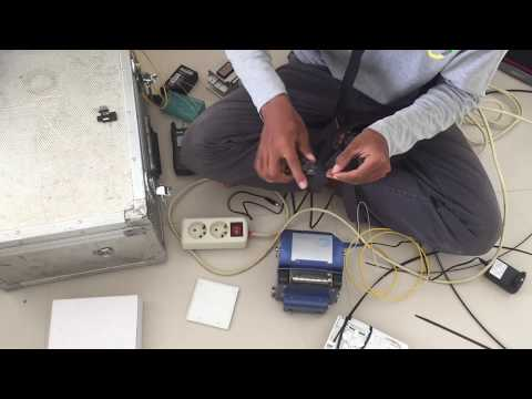 Install Fibre Optic Connection