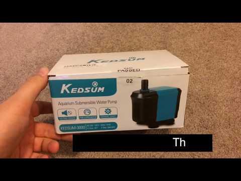 Return Pump Dying - Unboxing the Kedsum 3000 Pump