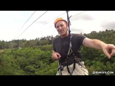 A Zipline, a signature phrase, and a little music.