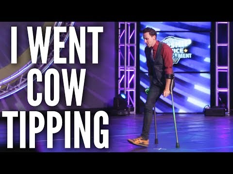 I went cow tipping—and woke up a bull