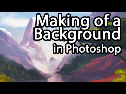 Making of - Background made in Photoshop