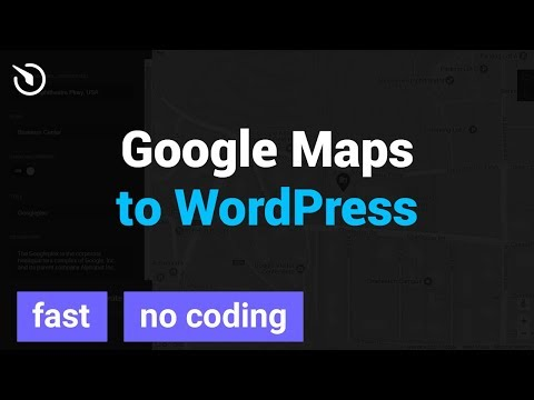How to Add Google Map to a WordPress website (FAST)