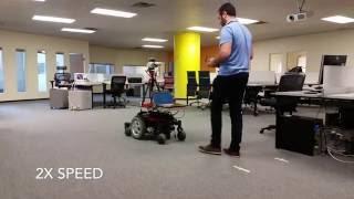 Wheelchair Platform using Stencil™ by Kaarta