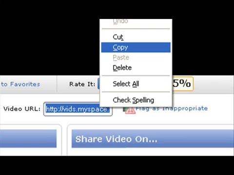 How To Download Myspace Videos