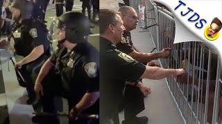 Cops Take Knee Then Attack Protestors