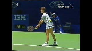Martina Hingis vs Mary Joe Fernandez Australian Open 1997 (full match)