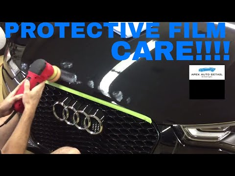 How to Care for Protective Film, Clear Bra!! Clean, Polish, Seal and Wax!!