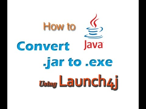 How to Convert  jar to  exe Using Launch4j [ TUTORIAL ]