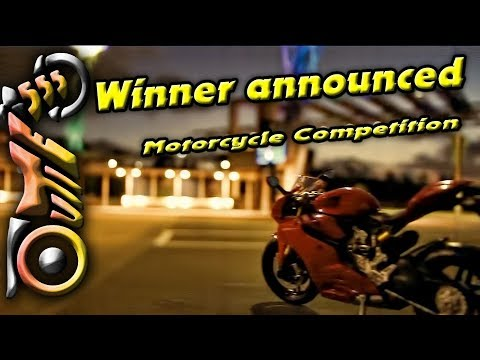 Motorcycle Give Away Competition Winner