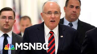 Why Rudy Giuliani's PR Strategy Could Be A Big Problem | Morning Joe | MSNBC