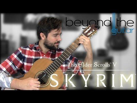 Skyrim: Dragonborn - Main Title Theme Classical Guitar Cover