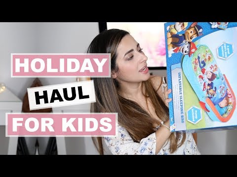 HOLIDAY HAUL 2018 | TRAVELLING TO BRAZIL WITH A BABY AND A TODDLER | Ysis Lorenna