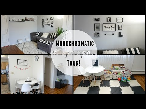 Modern Dining/Living Room Tour!
