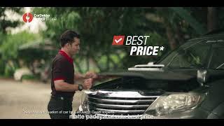Watch Mr. Dependable score BIG in CarDekho Gaadi Store's delightful TVC ad!