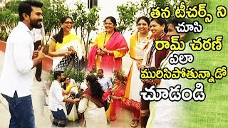 See How Ramcharan Acting In front Of His Teachers   Independence Day Celebrations   Tollywood Book