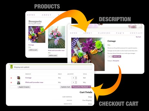 How To Setup A Online Shopping Cart On Your Website