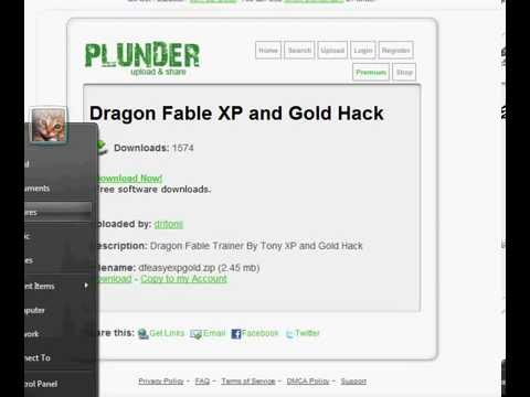 Dragonfable Exp Gold Hack without cheat engine