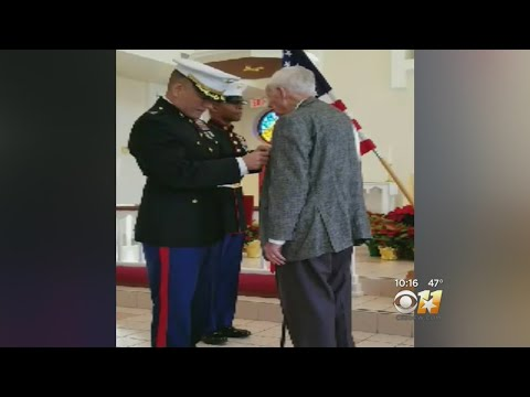 91-Year-Old Retired Marine Becomes One Of The Oldest To Receive Purple Heart