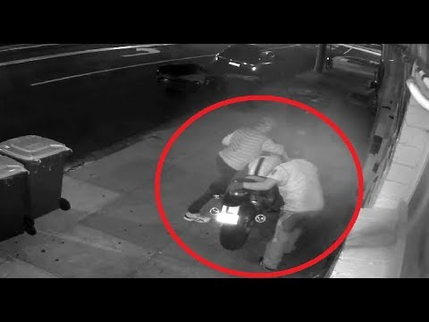 🎬 Motorcycle Theft | Stolen Motorbike 💚