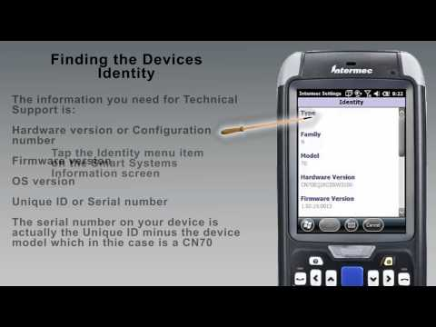Windows Mobile 6.5 Finding the Firmware Version