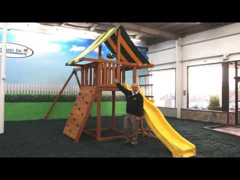 Eastern Jungle Gym's Dream Wooden Playset