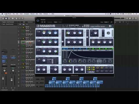 How To Make Sweet Backgrounds/Basses and Synths In Massive Mastering