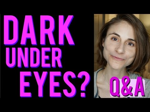 Dark under eye circles: causes? how to do to get rid of them?