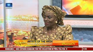 Actress, Taiwo Ajayi Lycett Talks About Hear Word Campaign After Europe, US Tour  Sunrise 