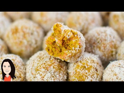 Carrot Cake Energy Balls - Easy Vegan Recipe!