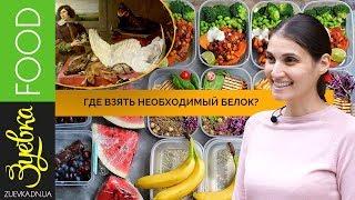 ПРАВИЛЬНОЕ ПИТАНИЕ: животный / растительный белок. Польза или вред.