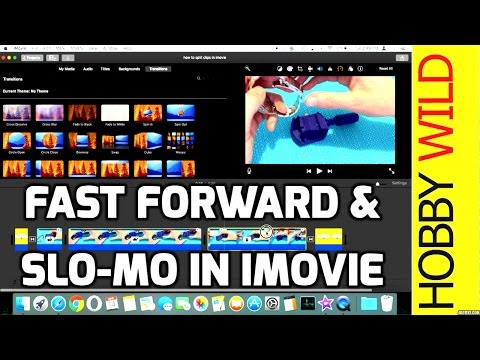 How To Fast Forward In iMovie (and Slow-Mo)