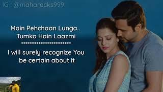 Arjit Singh - Khuda Hafiz Lyrics with English translation The Body Emraan Hashmi Rishi K Sobhita 