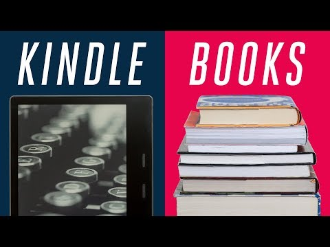 Kindle vs paper books