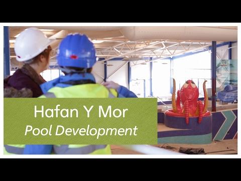 Hafan Y Mor pool development