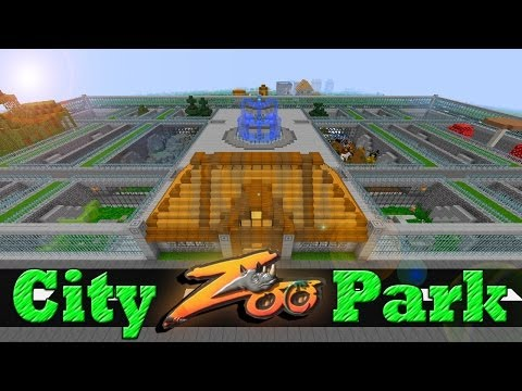 Minecraft City Zoo Park