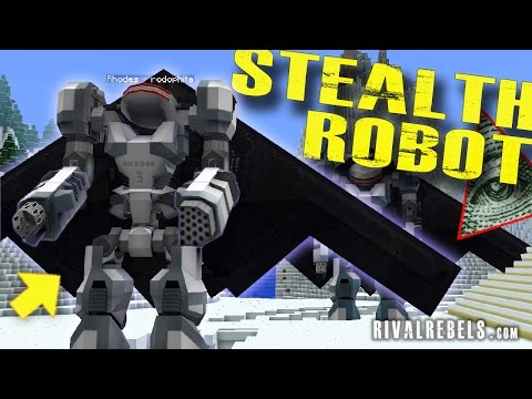 Flying Robot vs Illuminati Maze Runners #7