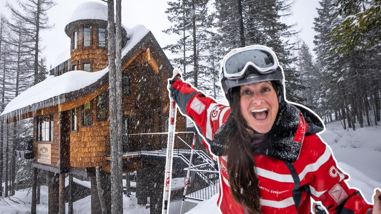 WORLD'S ONLY SKI IN SKI OUT TREEHOUSE
