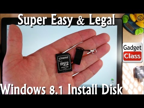How to Create Your Windows 8.1 Install Disk/Media ~Easy, Free & Completely Legal Through Microsoft
